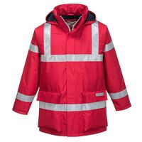 Bizflame Rain Anti-Static FR Jacket (Red / Large /...