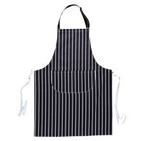 Butchers Apron with Pocket (Navy / R)