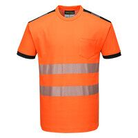 PW3 Hi-Vis T-Shirt S/S (OrBk / Medium / R)
