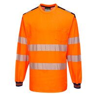 PW3 Hi-Vis T-Shirt L/S (OrNa / Medium / R)