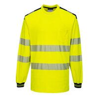 PW3 Hi-Vis T-Shirt L/S (YeBk / Medium / R)