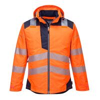 PW3 Hi-Vis Winter Jacket  (OrNa / XXL / R)