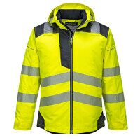 PW3 Hi-Vis Winter Jacket  (YeBk / XXL / R)