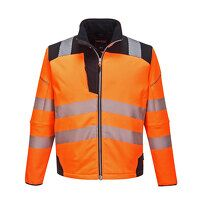 PW3 Hi-Vis Softshell Jacket (OrBk / 3 XL / R)