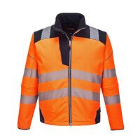 PW3 Hi-Vis Softshell Jacket (OrNa / Large / R)