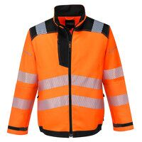 PW3 Hi-Vis Work Jacket (OrBk / XL / R)