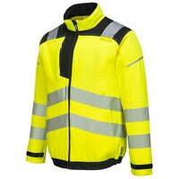 PW3 Hi-Vis Work Jacket (YeBk / Large / R)