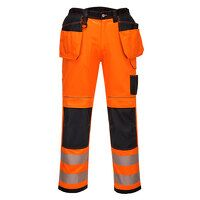 PW3 Hi-Vis Holster Work Trouser (OrBk / UK32 EU48 ...