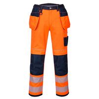 PW3 Hi-Vis Holster Work Trouser (OrNa / UK32 EU48 ...