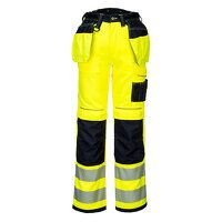 PW3 Hi-Vis Holster Work Trouser (YeBk / UK33 EU48 ...
