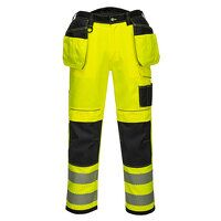 PW3 Hi-Vis Holster Work Trouser (YeBkS / UK33 EU48...