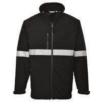 IONA Softshell Jacket (3L) (Black / Large / R)