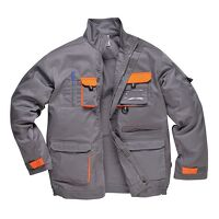 Portwest Texo Contrast Jacket (Grey / Small / R)