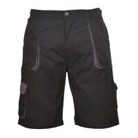 Portwest Texo Contrast Shorts (Black / Medium / R)