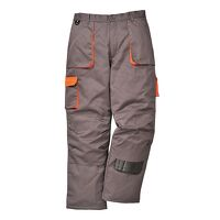 Portwest Texo Contrast Trouser - Lined (Grey / Large / R)