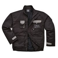 Portwest Texo Contrast Jacket - Lined (Black / Med...