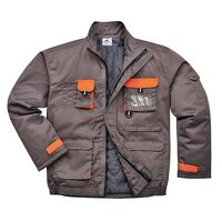 Portwest Texo Contrast Jacket - Lined (Grey / Medi...