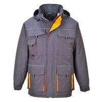 Portwest Texo Contrast Rain Jacket (Grey / XXL / R...