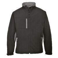 Portwest Texo Softshell (3L) (Black / Small / R)