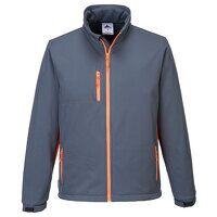 Portwest Texo Softshell (3L) (Grey / Medium / R)