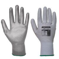 Vending PU Palm Glove (GreyGrey / Small / R)