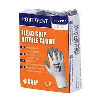 Flexo Grip Nitrile Glove (Vending) (WhGrey / Large / R)