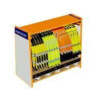 Large Freestanding Floor Stand L1.5m x W.5m x H1.4m (Orange / R)