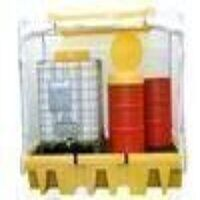 31-1343 Single IBC Spill Pallet C/W Fram...