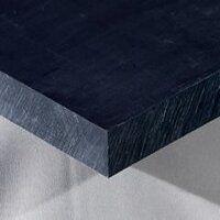 Nylon 6 Sheet 500 x 250 x 30mm (Black - Mos2 Lubri...