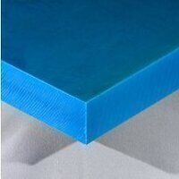Nylon 6 Sheet 500 x 250 x 40mm (Blue - Heat Stabil...