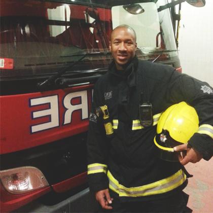 Meet Dean, the Firefighter!