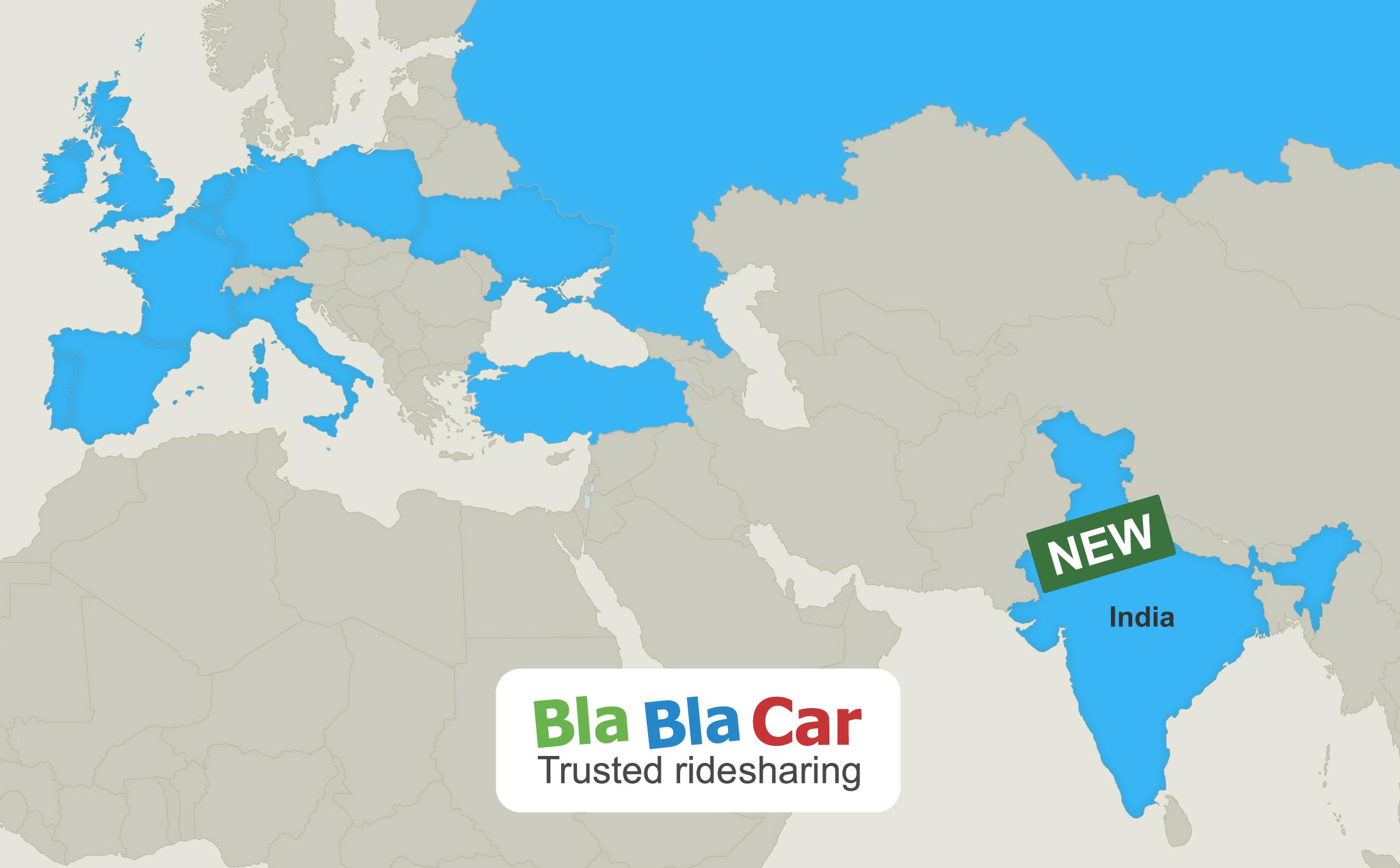 blablacar rides into india namaste blablacar. Black Bedroom Furniture Sets. Home Design Ideas