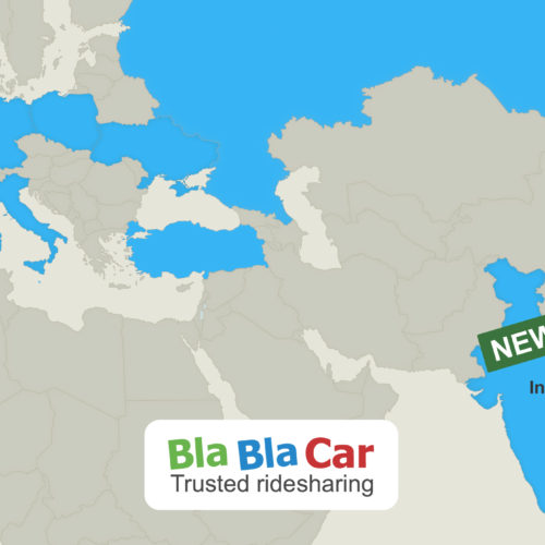 BlaBlaCar rides into India! Namaste!