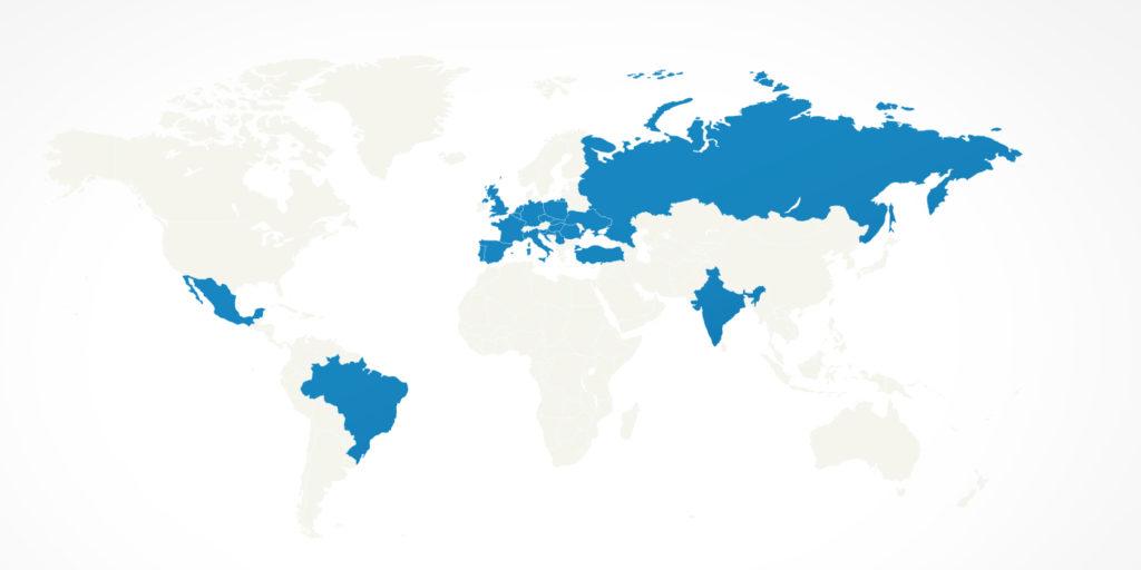 mappa BlaBlaCar