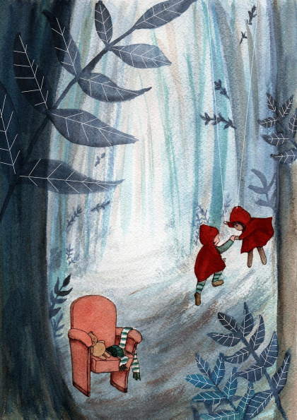 Little Red Riding Hoods: the Theatre in the Wood
