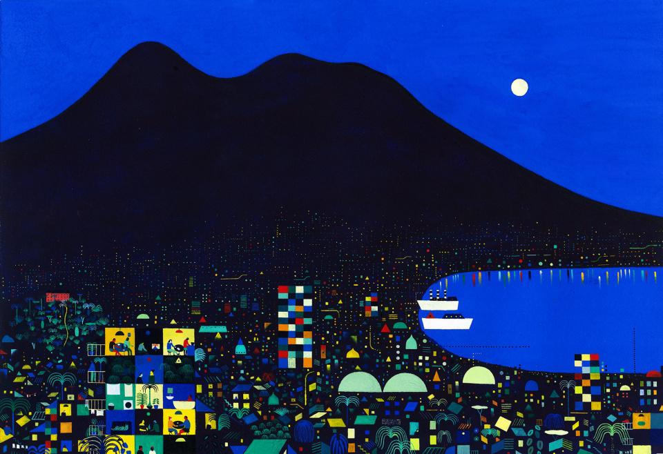 Naples Sleeps, Vesuvius Keeps Watch