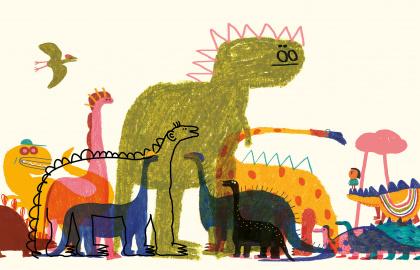 È arrivato un dinosauro