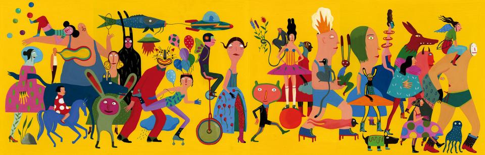 2021 Illustrators Exhibition's Cover