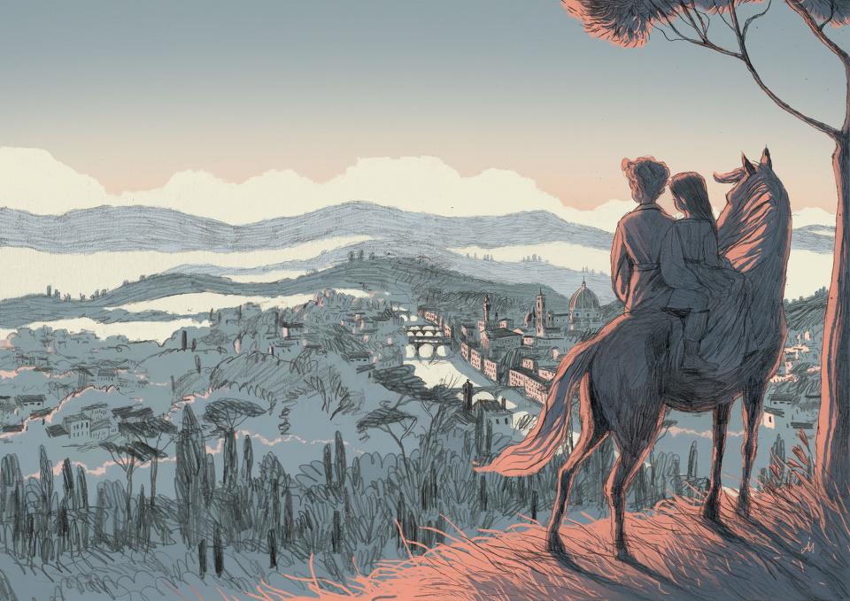 <em>Due ragazzi nella Firenze dei Medici</em>