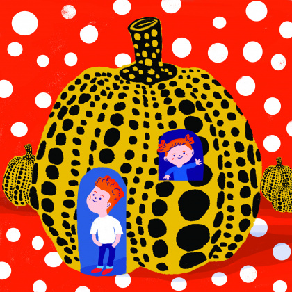 Nel mondo di Yayoi - i bambini e l'arte contemporanea    Digital technique