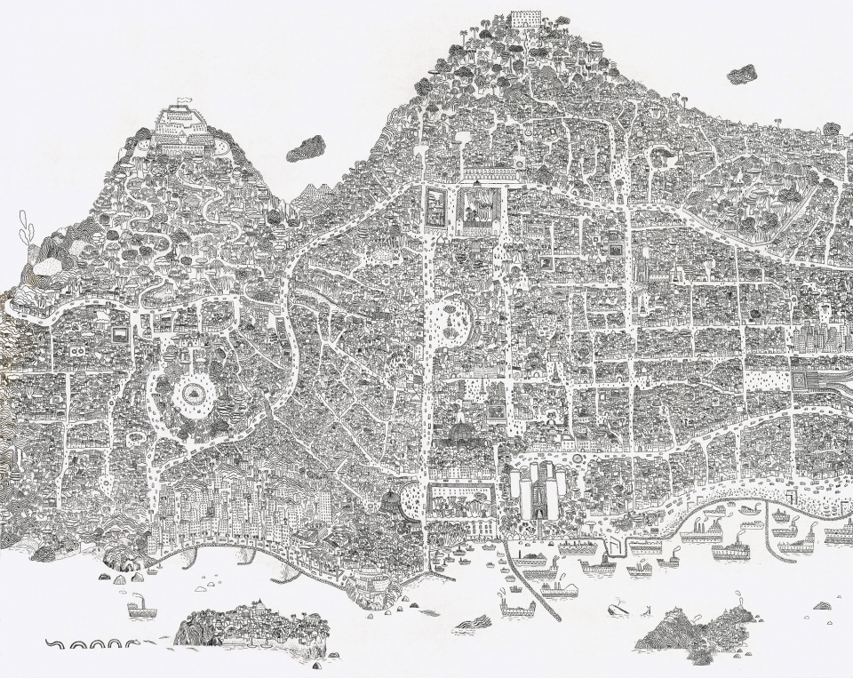 Imaginary Map of Naples