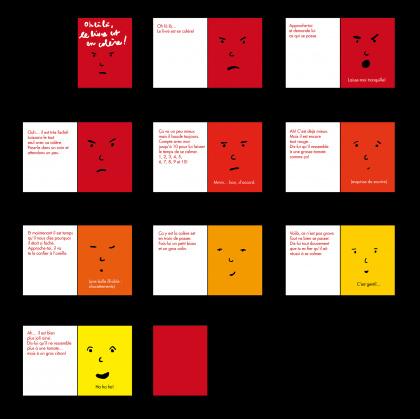 Le livre en colère maquette