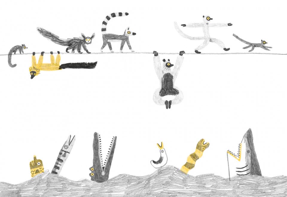 <em>Sulla vita dei lemuri</em>