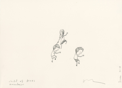 Oliver Jeffers' sketches