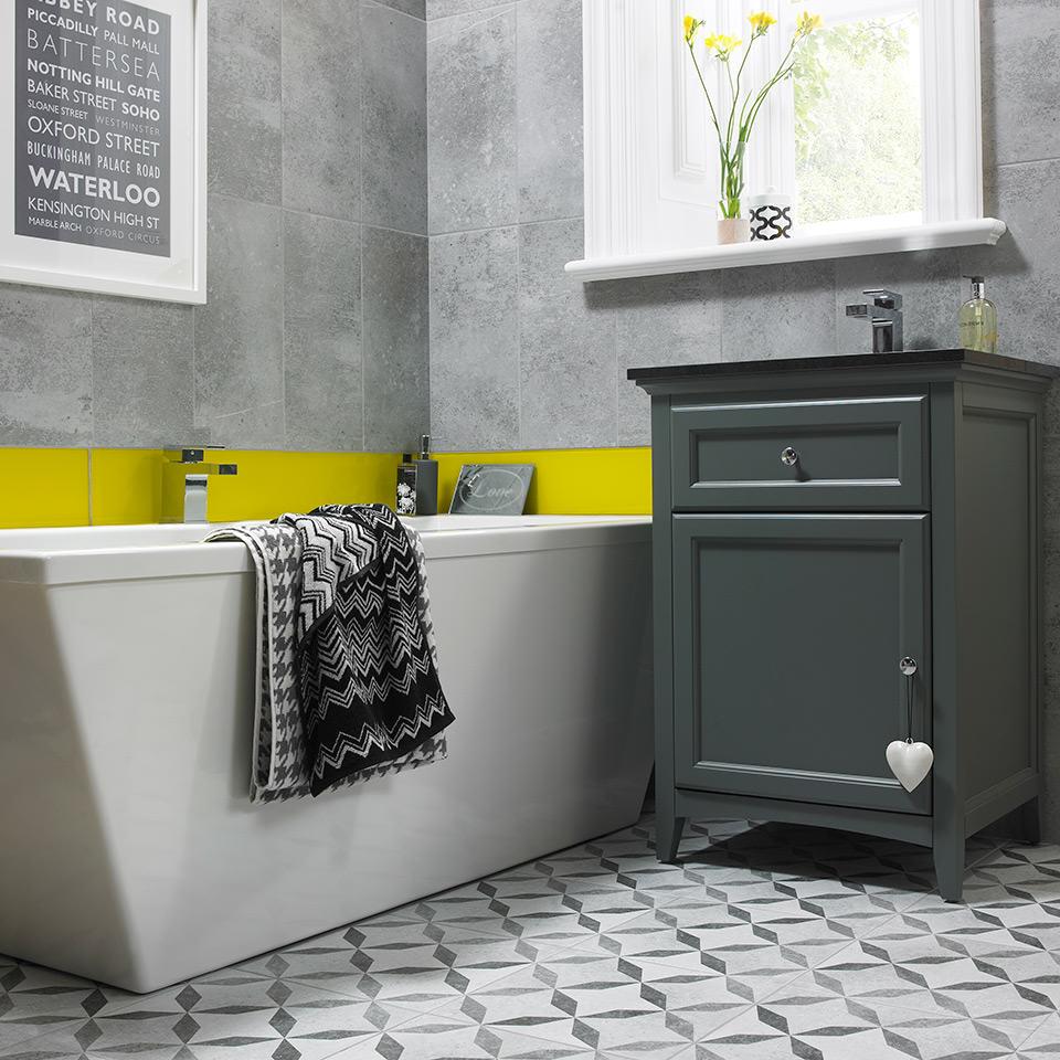 Concrete Bathroom featured