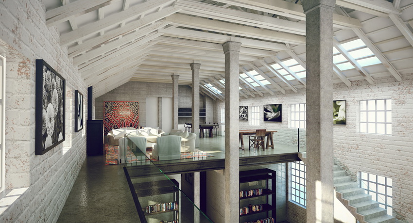 3 Industrial Style Interior