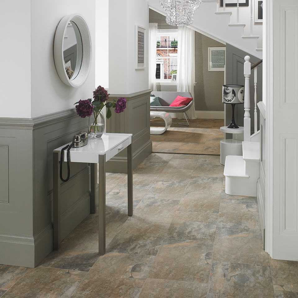 Hallway tiles 5 ideas to make an amazing first impression keystone hallway hd keystone stone matt floor tiles dailygadgetfo Choice Image