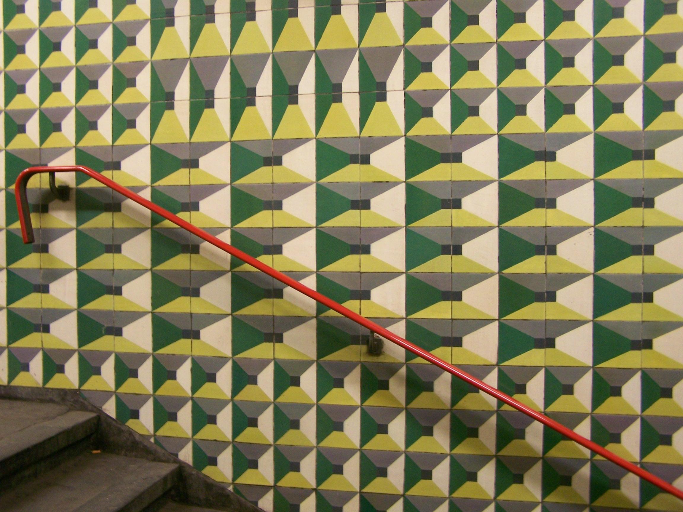A Lisbon metro station