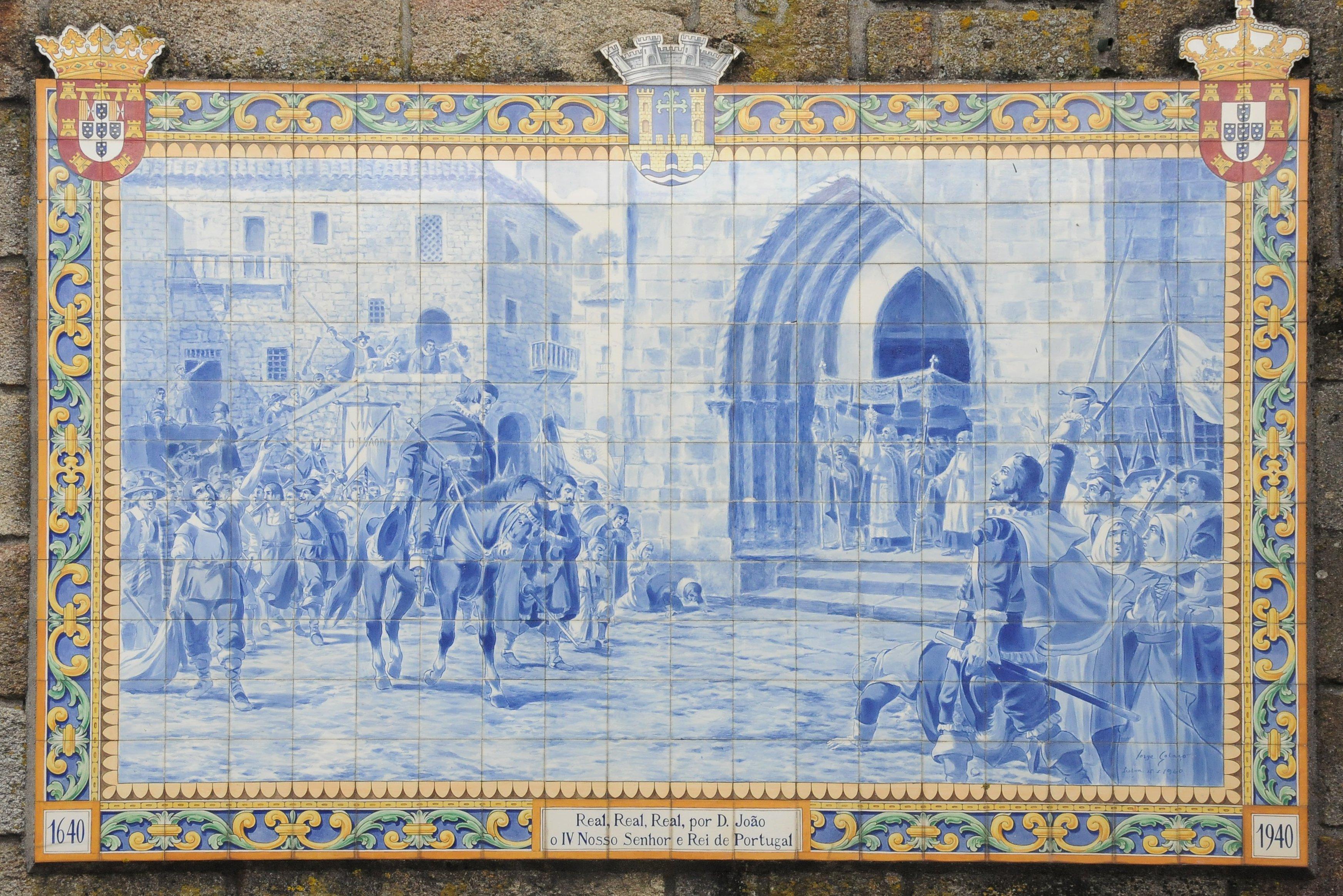 An Azulejo Mural