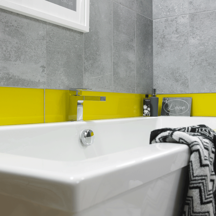 HD Concrete Mid Grey Wall